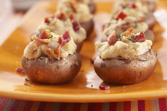 Champignons farcis à la purée de pommes de terre Image 1