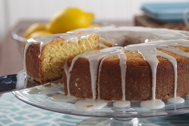 Glazed Lemon Coffee Cake Image 1