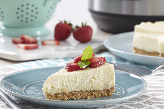 Electric Pressure Cooker Cheesecake Image 1