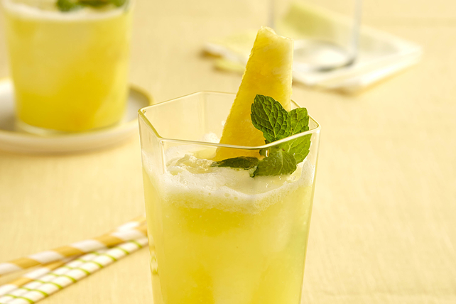 Spicy Pineapple Agua Fresca