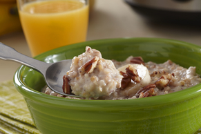 Slow-Cooker Banana Bread Oatmeal