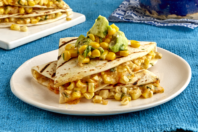 Mexican Street Corn Quesadillas Image 1
