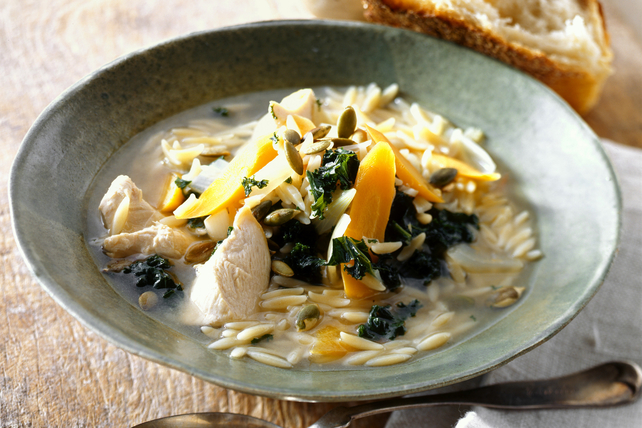Chicken Soup with Kale Image 1