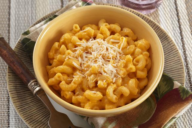 Macaroni au fromage et à la courge musquée Image 1