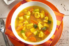 Turmeric-Alphabet Noodle Soup Image 2
