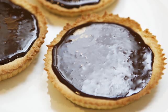 Tartelettes truffées au chocolat Image 1