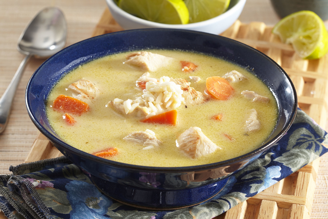 Coconut-Curry Chicken Soup Image 1