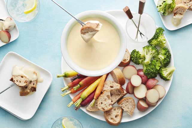 Fondue au fromage classique Image 1