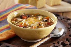 Southwest Slow-Cooker Chicken Ramen Soup Image 2