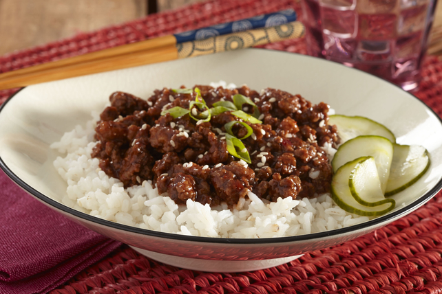 Korean BBQ Beef Rice Bowls Image 1