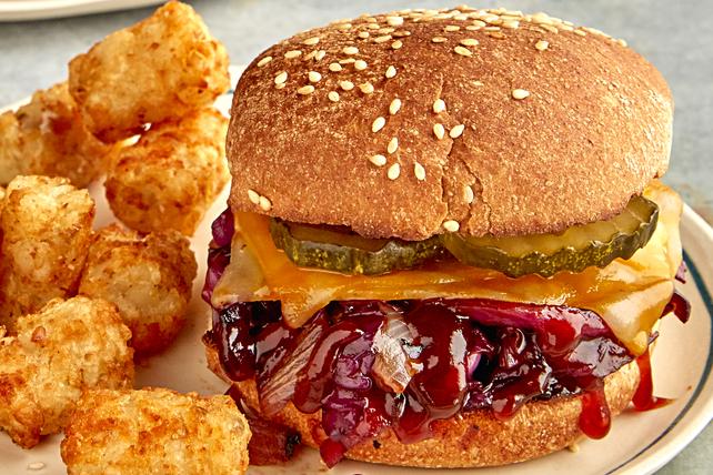 Sandwichs au chou barbecue grillé Image 1