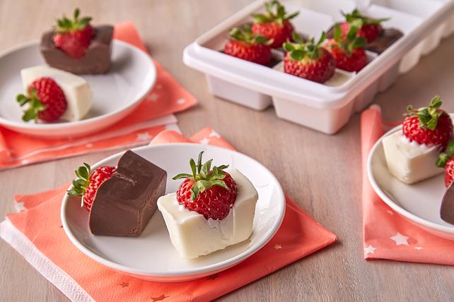 Fraises dans le chocolat toutes simples Image 1