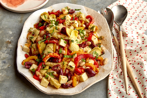 Roasted Pepper-White Bean Salad