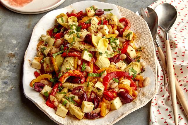 Salade de poivrons rôtis et de haricots blancs Image 1