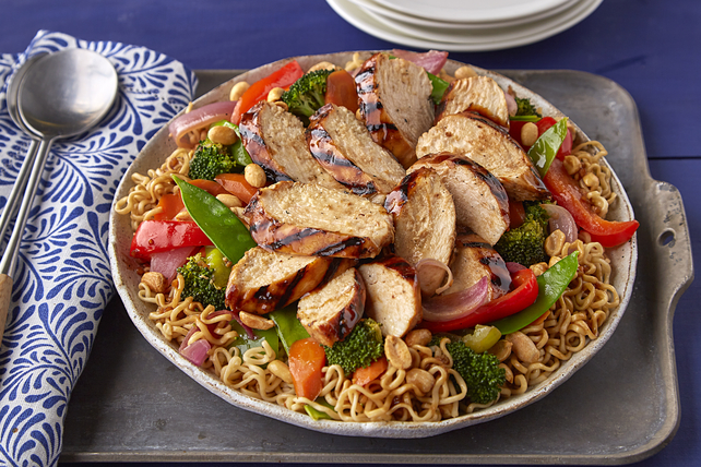Grilled Teriyaki Chicken with Ramen Noodles Image 1