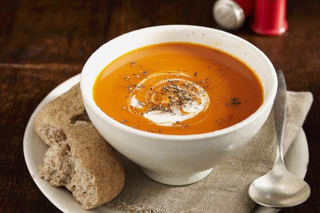 Soupe à la courge musquée et aux tomates Image 1
