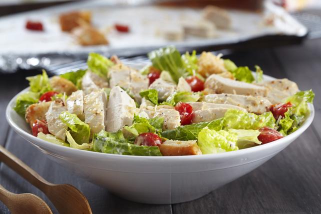 Salade César au poulet vite faite Image 1