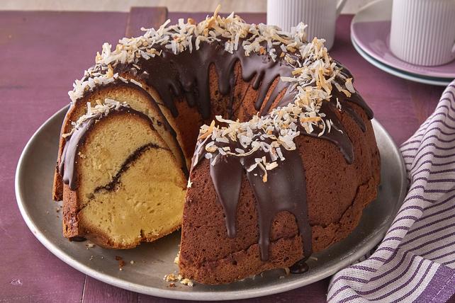 Gâteau suprême au chocolat et à la noix de coco Image 1