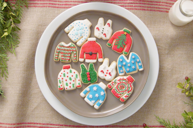 Ugly Sweater Cookies Image 1