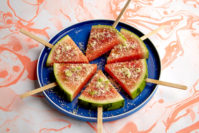 Watermelon Salad Pops