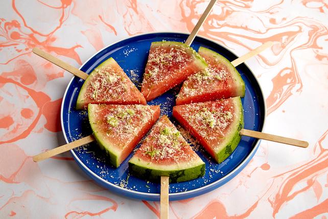 Sucettes à la salade de melon d'eau Image 1