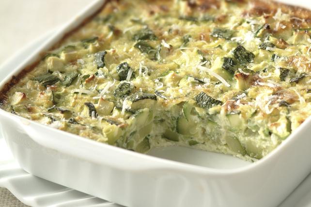 Cheesy Zucchini Bake Image 1