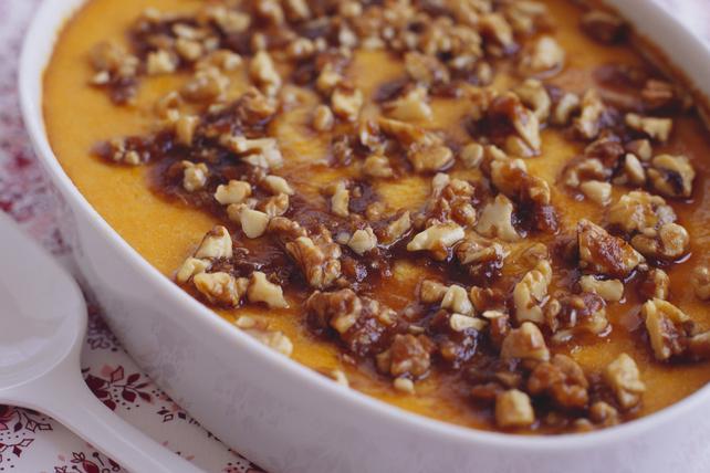 Casserole de patates douces avec garniture aux pacanes Image 1