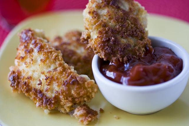 Doigts de poulet croustillants avec trempette au chili Image 1