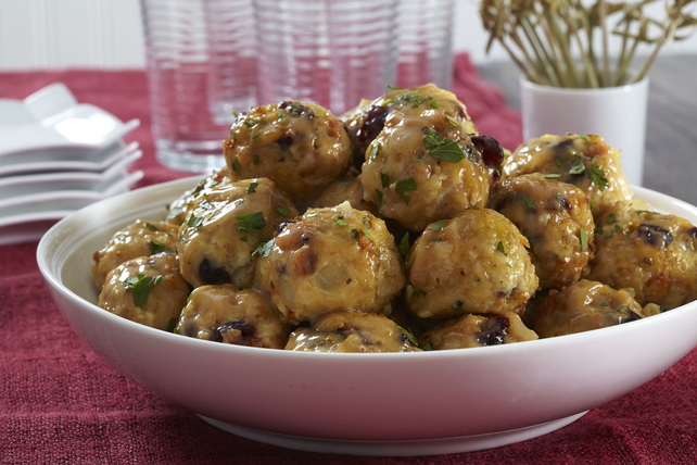 Leftover Turkey and Stuffing Balls Image 1