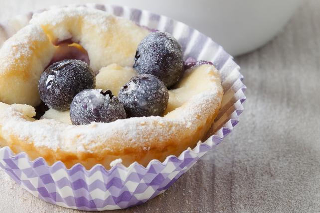 Petits gâteaux au fromage aux bleuets Image 1
