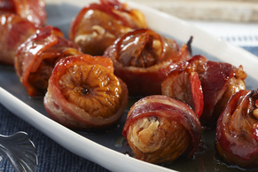 Honey Figs with Bacon