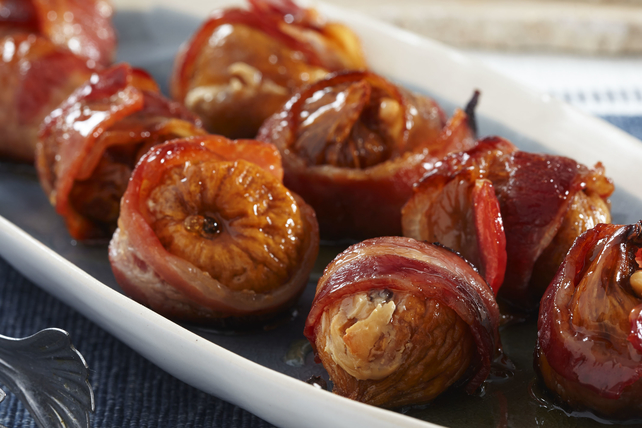 Honey Figs with Bacon Image 1