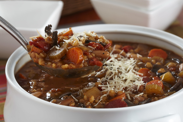 Slow-Cooker Bean and Barley Soup Image 1