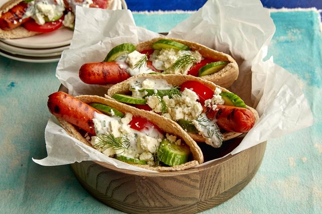 Gyro Hot Dogs Image 1