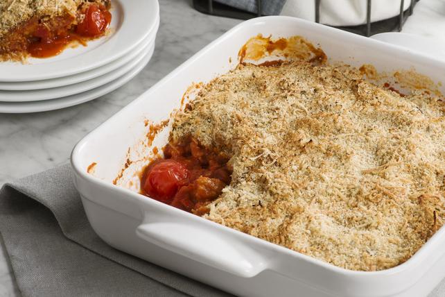 Gratin d'aubergine et de tomates Image 1