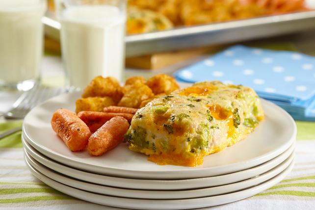 Broccoli-Cheese Mini Meatloaves Image 1