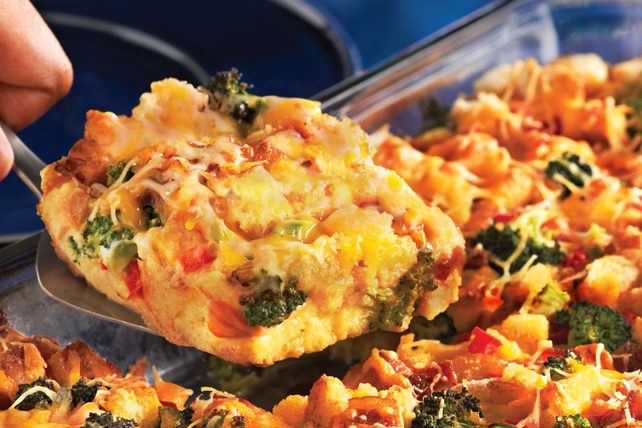 Bacon & Broccoli Make-Ahead Egg Bake