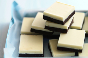 Two-Tone Chocolate Squares