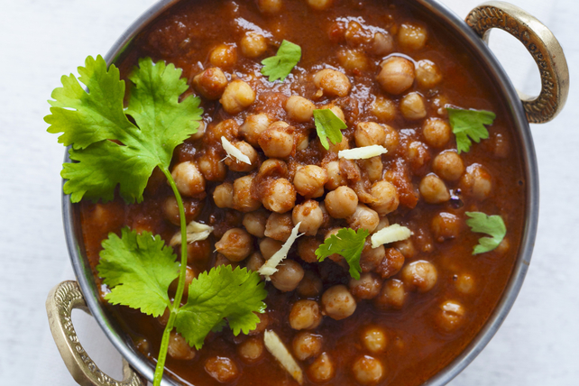Chickpeas all'Arrabbiata Image 1