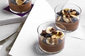 Overnight Chocolate-Chia Pudding