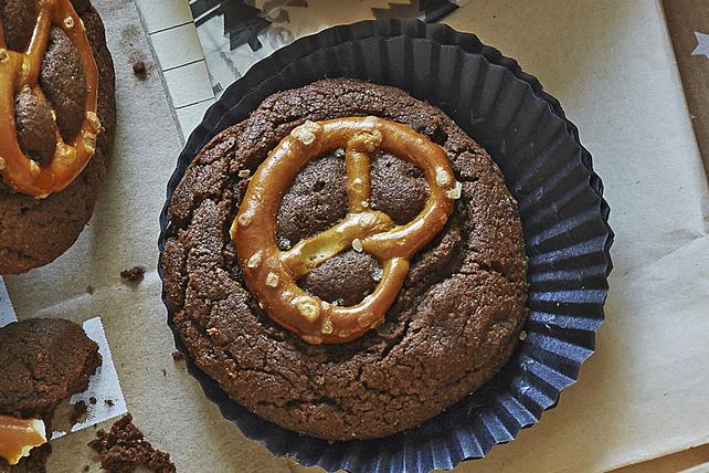 Biscuits aux brownies et aux bretzels Image 1