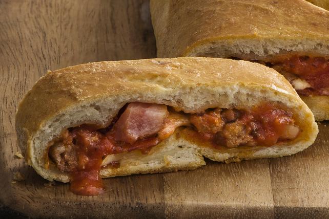 Stromboli pour les amateurs de viande Image 1