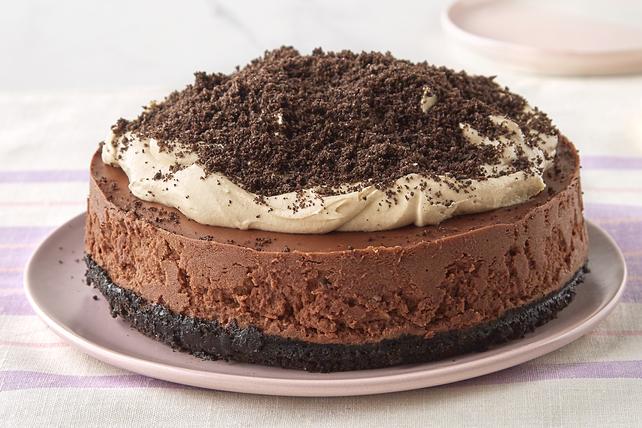Gâteau au fromage au chocolat et au beurre d'arachide à l'autocuiseur Image 1