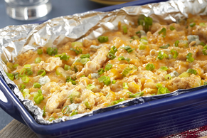 Buffalo Chicken-Quinoa Bake Image 2