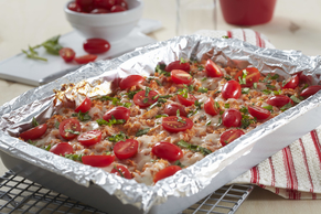 Make-Ahead Chicken Bruschetta Quinoa Bake Image 2