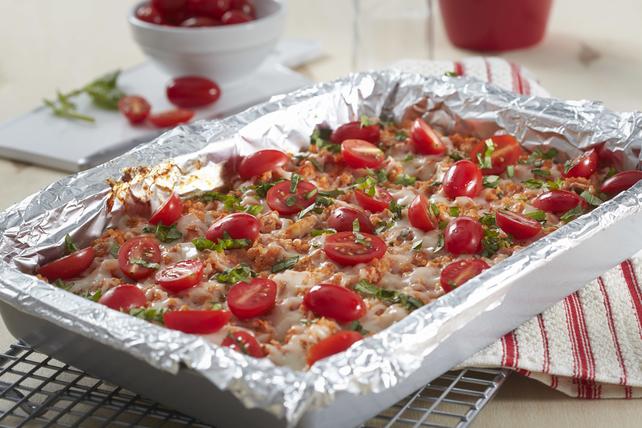 Casserole de quinoa au poulet et à la bruschetta cuisinée à l'avance Image 1