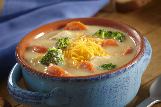Slow-Cooker Chicken and Broccoli Cheese Soup Image 1