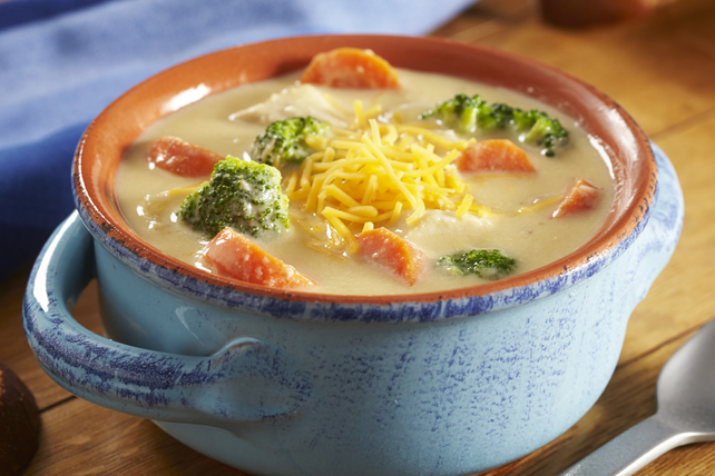 Slow-Cooker Chicken & Broccoli Cheese Soup Image 1