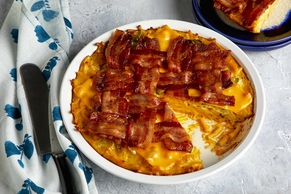 Bacon-Mac and Cheese Frittata