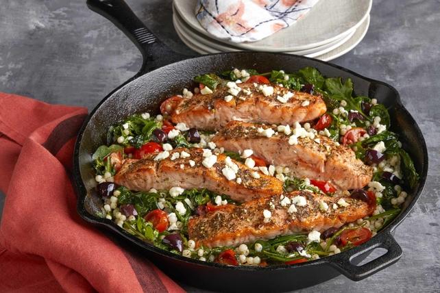 Mediterranean Za'atar Salmon  Image 1